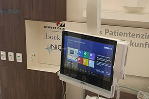 ClinicAll hospital infotainment special offer