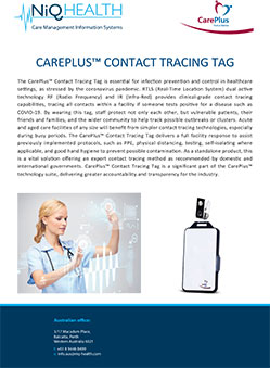 CarePlus Contact Tracing Tag